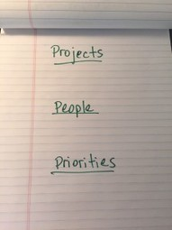 Improve Your Daily Productivity By Focusing The 3 P's | Lead With Giants Scoops | Scoop.it