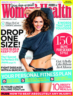 Rachel Bilson Covers 'Women's Health UK' March 2013   Magazine ...   how to have a healthy life   Scoop.it
