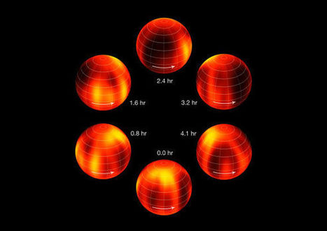 Astronomers Create a Cloud Map of the Nearest Brown Dwarf, Luhman 16B | Scientific Paranormal Research Organisation | Scoop.it
