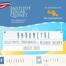 Baromètre mensuel Collectivites Territoriales et Reseaux Sociaux Juillet 2013... une analyse mal adaptée ! | Numérique territorial | Scoop.it