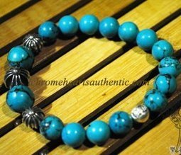 Chrome Hearts Turquoise Beads Bracelet Silver Ball [Turquoise Beads Bracelet] - $219.99 : Authentic Eyewear,Clothing,Accessories By Chrome Hearts! | my trend | Scoop.it