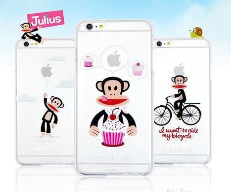 Paul Frank Clear Hard Case for iPhone 5S/ 5, iPhone 6, iPhone 6 Plus | Best Smartphone Cases | Scoop.it