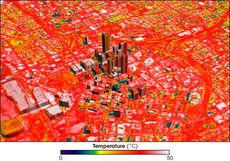 Surplus de chaleur urbaine : des effets locaux et à grande échelle | Toxique, soyons vigilant ! | Scoop.it
