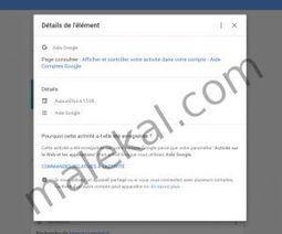 Surveiller les données collectées par Google | malekal's site | Freewares | Scoop.it