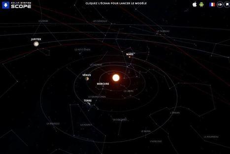 5 outils en ligne pour explorer le système solaire | Les outils du Web 2.0 | Scoop.it