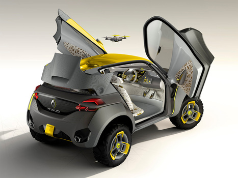 Renault's Off-Roader Concept Launches a Drone Out of Its Roof | Daily Magazine | Scoop.it