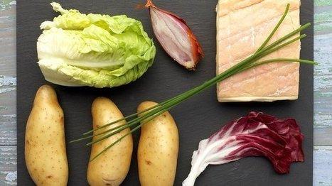 Salade de Ratte du Touquet au Maroilles   The Voice of Cheese   Scoop.it