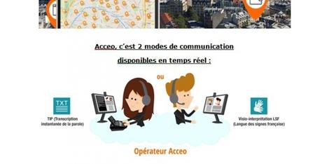 Acceo fédère 22 000 établissements autour de l'accessibilité* pour tous ( *Communication, sourds et malentendants)   Le journal de l'éco   Langue des signes, numérique et accessibilité   Scoop.it