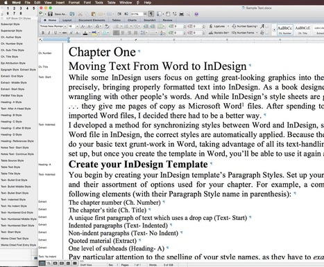 Importare Il Testo Da Word Su InDesign | Impaginare Con InDesign: Tutorial E Guide Utili | Scoop.it