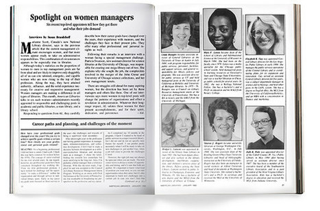 Women in Management, Revisited | American Libraries Magazine | Library Collaboration | Scoop.it