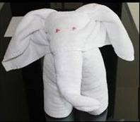 How to Make an Elephant with a Towel? Easy Steps!! | Holiday Inn Dubai Al Barsha | Scoop.it