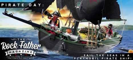 Talk Like A Pirate Day: Sail the Seas with a Radio-Controlled Playmobil Pirate ... - The Rock Father | Heron | Scoop.it