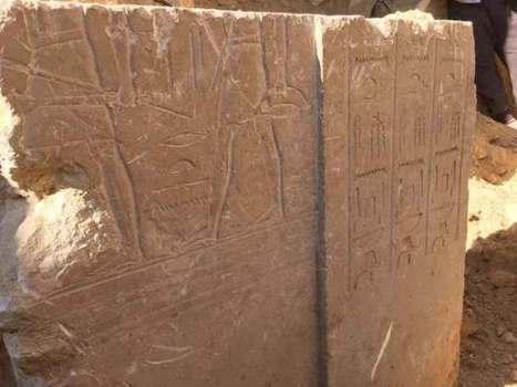 Hallan una tumba de un alto funcionario faraónico tallada en la roca | Egiptología | Scoop.it