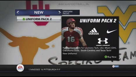 NCAA 14: Uniform Pack Two Available Now - GameSided | Social Studies | Scoop.it