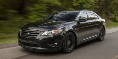 This is what a 550 hp Taurus looks like | Mikes Auto News | Scoop.it