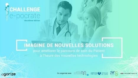 Lancement du Challenge E-Pocrate 2016 - Club Digital Santé | Esanté Easis | Scoop.it