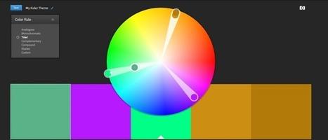 Vidéo d'animation – les outils pour créer ses palettes de couleurs – Webmarketing & co'm   Rebble it   Scoop.it