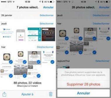 Pratique : supprimer toutes ses photos iPhone rapidement - iPhone 6, 6 Plus, iPad et Apple Watch : blog et actu par iPhon.fr   Apple pratique   Scoop.it