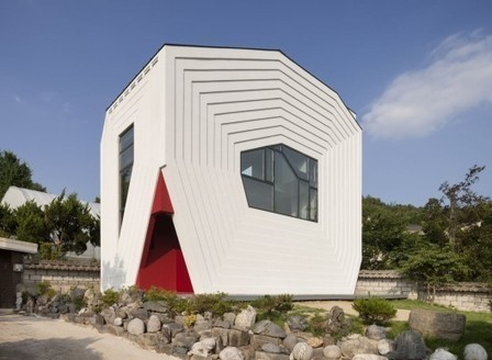 [Bangdong, South Korea] Conan House / Moon Hoon | The Architecture of the City | Scoop.it