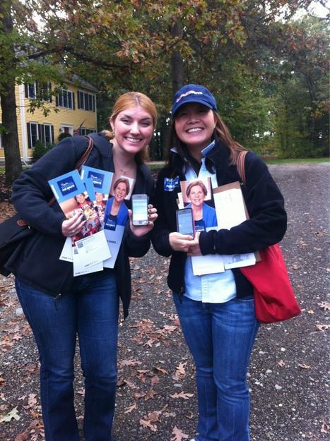 Lit? Check. Lapel stickers? Check. MiniVan? Check. @ScottBrownMA's real record? Check | Massachusetts Senate Race 2012 | Scoop.it