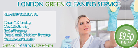 Domestic Cleaning Company - Home Cleaning Services in London | Welcome to Greenleaf Cleaning! | Scoop.it