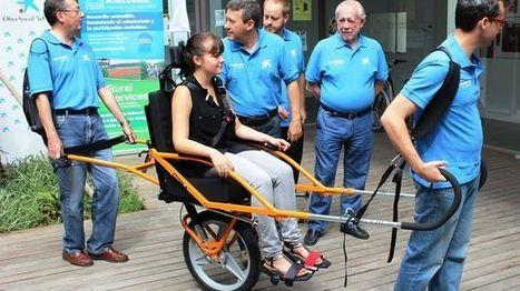 Málaga estrena la primera silla adaptada para senderismo de personas con ... - Te Interesa | Asesor en Accesibilidad | Scoop.it