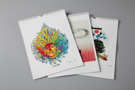 Wasser wirkt. Ein Kalender für Unicef. | Slanted - Typo Weblog und Magazin | We love Design | Scoop.it