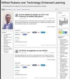 Bloggen en 'connected learning'   Wilfred Rubens   ICTO Zuyd   Scoop.it