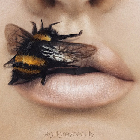 Makeup Artist Turns Her Lips Into Stunning Works Of Art (10 Pics) | Make-Up Articles | Scoop.it