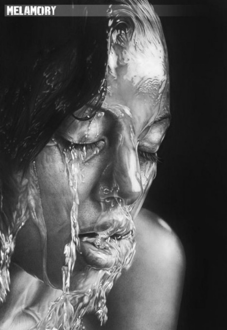 Picture-Perfect Pencil Drawn Portraits by Olga Larionova | Strange days indeed... | Scoop.it