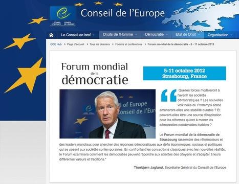 Forum mondial de la démocratie ... des gouvernements. Organisons-nous! | #OCCUPYfakeDEMOCRACY | Communiqu'Ethique sur la gouvernance économique et politique, la démocratie et l'intelligence collective | Scoop.it