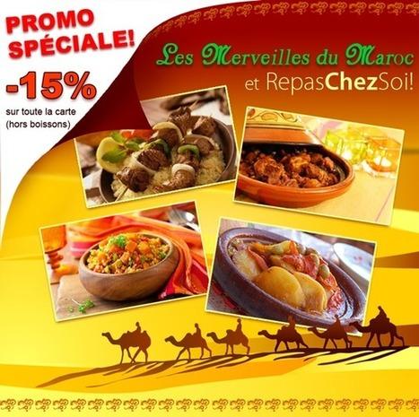 La promo du moment sur RepasChezSoi.com ! | RESTAURANT | Scoop.it