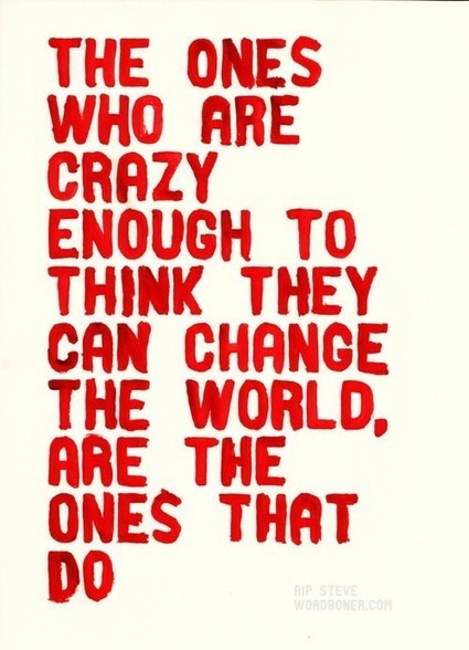 Crazy enough... | Quote for Thought | Scoop.it