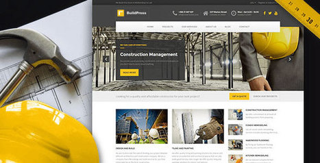 BuildPress v2.1.0 - WP Theme For Construction Business - Yocto Templates | YOCTO WordPress Themes & Plugins | Scoop.it