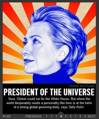 Forget the Oval Office, Borg Queen Clinton Should be 'Universal Empress'