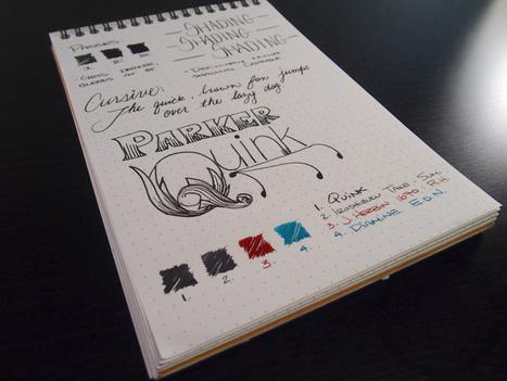 Parker Quink in Black - Handwritten Fountain Pen Ink Review | Writing instruments | Scoop.it