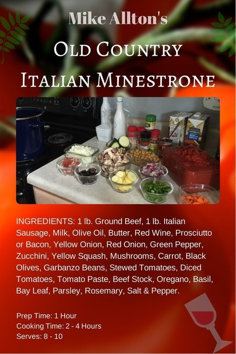 Mike Allton's OLD COUNTRY ITALIAN MINESTRONE | Digital-News on Scoop.it today | Scoop.it