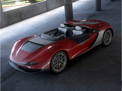 Ferrari Pininfarina Sergio 3D | 3D Library | Scoop.it