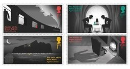 New Agatha Christie stamps deliver hidden clues | Falling into Infinity | Scoop.it