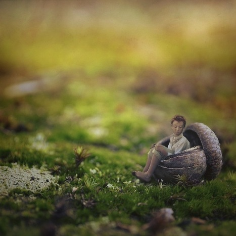 14-Year-Old Photographer's Amazingly Surreal Self Portraits | Creative Photography | Scoop.it
