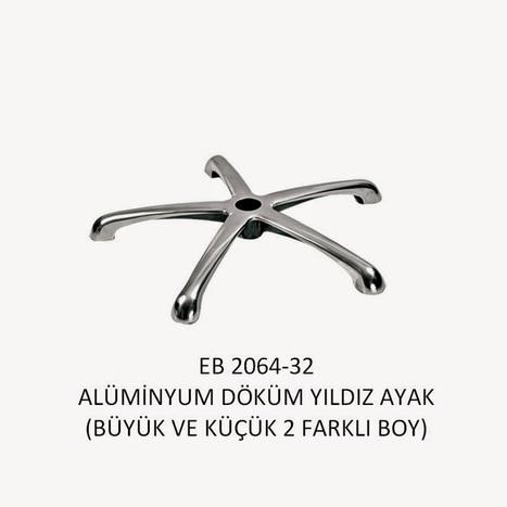 Ofis Koltuk Ayakları - Aluminyum Yıldız Ayak - Calsit Koltuk   Ofis Koltuk Tamir   Scoop.it