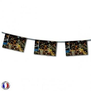 Guirlande thème basket (match) | Cbodeco.com - Boutique Festive | Scoop.it