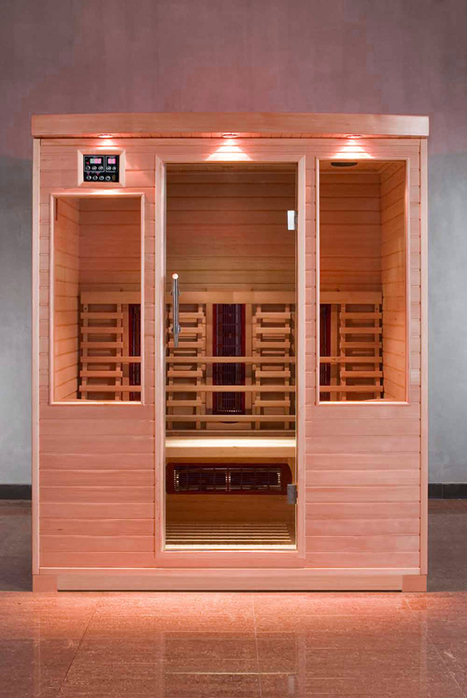 Sauna Room | Bathroom Designs | Scoop.it
