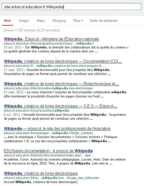 Wikipédia face aux institutions, par Éric Bruillard - Framablog | Enseignement numérique | Scoop.it
