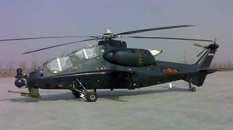 Salon aéronautique Zhuhai, le premier hélicoptère militaire chinois, WZ-10 fait son apparition | Fan d'aviation | Scoop.it