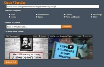 Free Technology for Teachers: Clip Choose - Create Video-based Polls | Technology Enhance Learning UK | Scoop.it