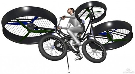 From Pedals to Propellers, Czech Flying Bike Takes Shape | Strange days indeed... | Scoop.it