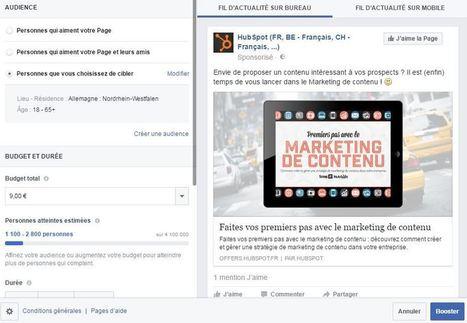 Comment faire de la publicité sur Facebook ? | Communication WEB - Réseaux Sociaux - Veille - Content Marketing - SEO | Scoop.it