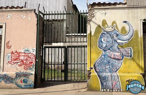 The Three Best Neighborhoods in Santiago for Scoping Out Street Art | World of Street & Outdoor Arts | Scoop.it
