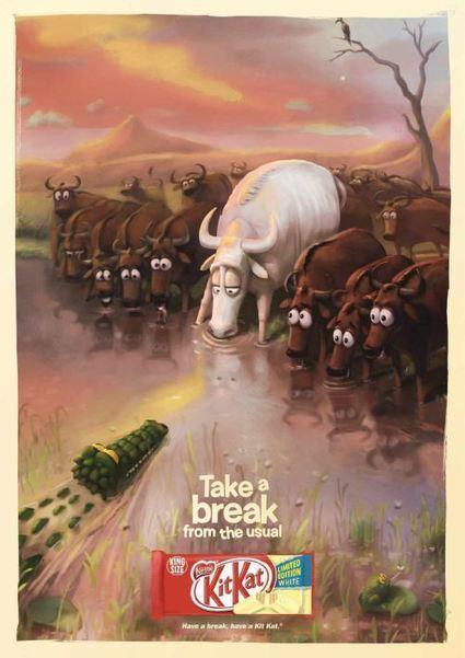 "Advertising Break: Kitkat e la sua pausa ""golosa"". | Angelo Cerrone | Social Media Consultant 2012 | Scoop.it"